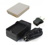 Packs de batería y cargador para cámaras fotográficas